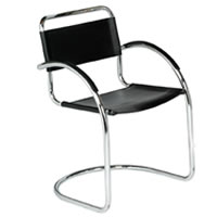 Artemis cantilever chrome armchair hire