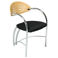 Apollo chrome frame chair hire