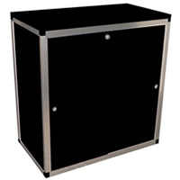 3' Lockable counter cupboard wth shelf hire
