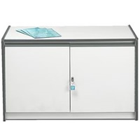 Low lockable cupboard hire
