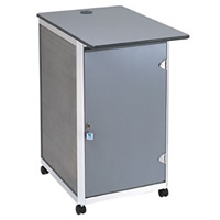 Lockable computer POD workstation - single hire