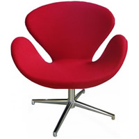 Swan Chair Red hire