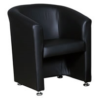 Mayfair Leather Tub Chair hire