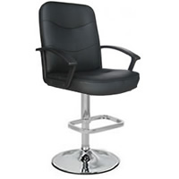 Jayden Leather Bar Stool