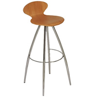 Athena backed bar stool