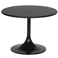 2'6 Arkana round trumpet base table hire