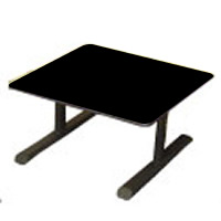 Cobra square coffee table hire
