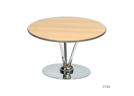 2' Aurora Round Topped Table