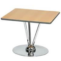 2' Aurora Square Topped Table hire