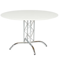 White Round Table 3'9''