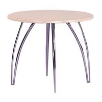 Apollo 2'6 Chrome Legged Table