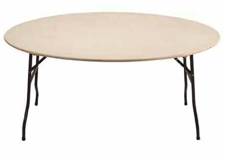 5'6'' Round Folding Table