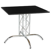 2'6'' Square Table with Truss Leg