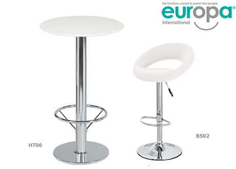 Bar Table with Footrest