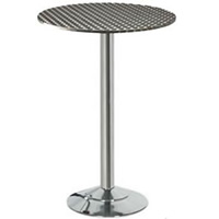Stainless Steel Topped Bar Table