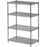 4-shelf display stand hire