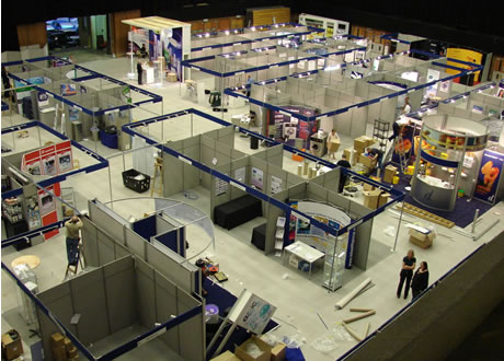 Exhibition Stand Hire : Exhibition shell scheme stand hire