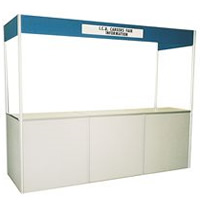 Sales reception counter hire