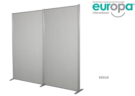 2M Freestanding Display Panel Hire