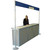 Eurosystem sales counter - POA hire
