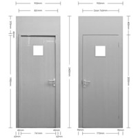 Lockable Door - 3 Lever Lock hire