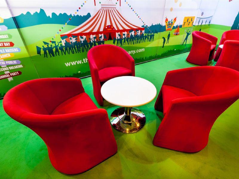 Exhibition Stand Furniture Hire : Exhibition furniture hire