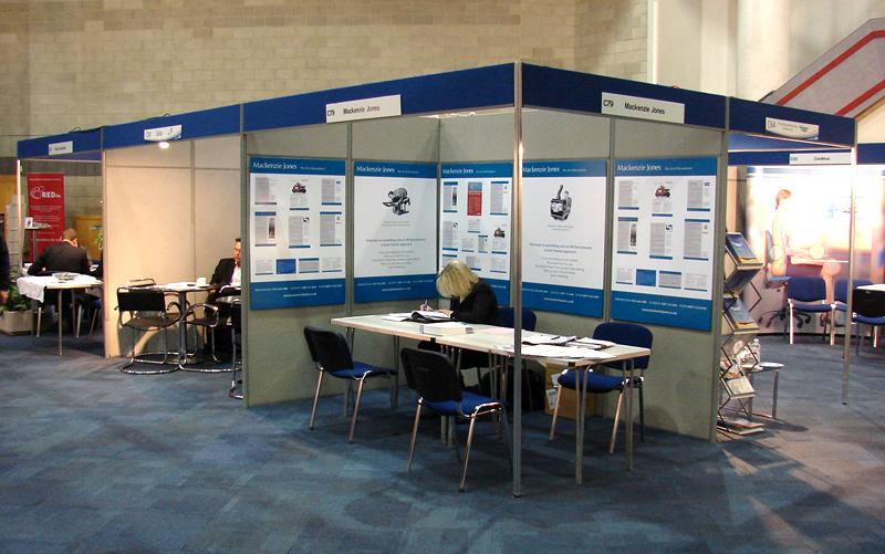 Exhibition Shell Scheme Hire : Graphic hire
